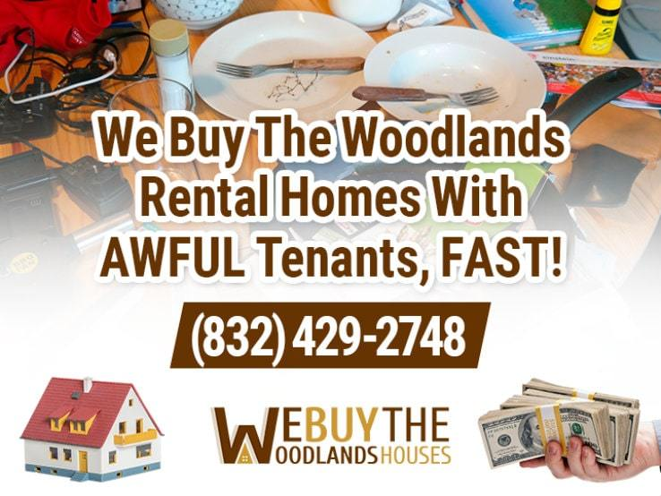the woodlands difficult tenants
